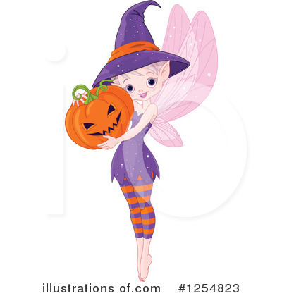 Fairy Clipart #1254823 by Pushkin