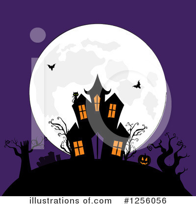 Halloween Clipart #1256056 by elaineitalia