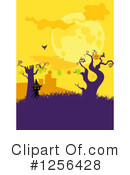 Royalty-Free (RF) Halloween Clipart Illustration #1256428