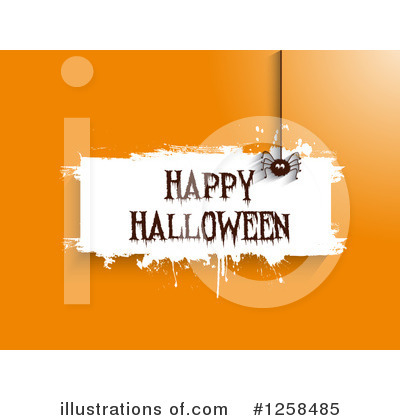 Royalty-Free (RF) Halloween Clipart Illustration by KJ Pargeter - Stock Sample #1258485