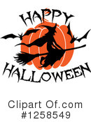 Royalty-Free (RF) Halloween Clipart Illustration #1258549