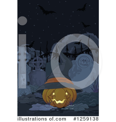 Cemetery Clipart #1259138 by Pushkin