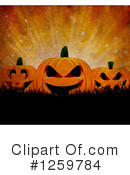 Royalty-Free (RF) Halloween Clipart Illustration #1259784