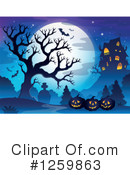 Halloween Clipart #1259863 by visekart