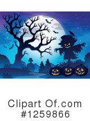 Halloween Clipart #1259866 by visekart