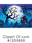 Halloween Clipart #1259868 by visekart