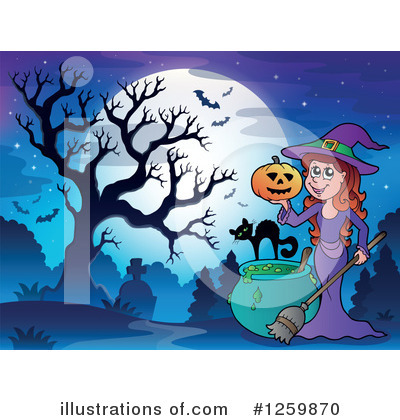Witchcraft Clipart #1259870 by visekart