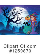 Halloween Clipart #1259870 by visekart