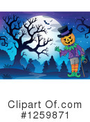 Halloween Clipart #1259871 by visekart