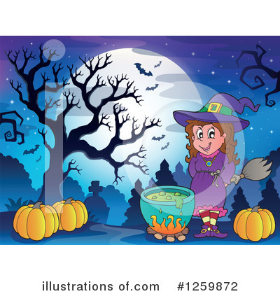 Witchcraft Clipart #1259872 by visekart
