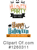 Halloween Clipart #1260311 by Vector Tradition SM