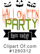 Halloween Clipart #1260312 by Vector Tradition SM