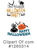 Halloween Clipart #1260314 by Vector Tradition SM