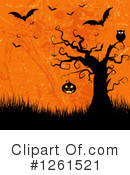 Royalty-Free (RF) Halloween Clipart Illustration #1261521