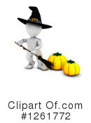 Halloween Clipart #1261772 by KJ Pargeter