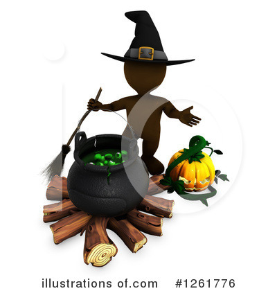Royalty-Free (RF) Halloween Clipart Illustration by KJ Pargeter - Stock Sample #1261776