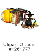Halloween Clipart #1261777 by KJ Pargeter