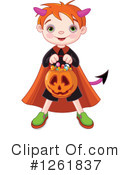 Halloween Clipart #1261837 by Pushkin