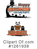 Halloween Clipart #1261938 by Vector Tradition SM