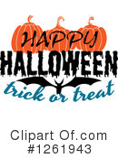 Halloween Clipart #1261943 by Vector Tradition SM