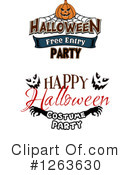 Halloween Clipart #1263630 by Vector Tradition SM