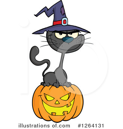 Royalty-Free (RF) Halloween Clipart Illustration by Hit Toon - Stock Sample #1264131