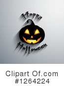 Royalty-Free (RF) Halloween Clipart Illustration #1264224