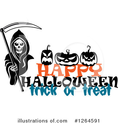 Grim Reaper Clipart #1264591 by Vector Tradition SM