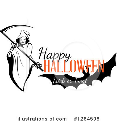 Grim Reaper Clipart #1264598 by Vector Tradition SM
