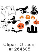 Royalty-Free (RF) Halloween Clipart Illustration #1264605
