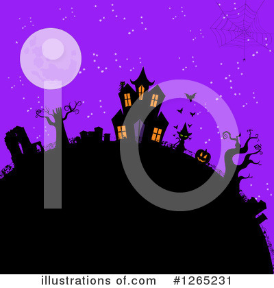Halloween Clipart #1265231 by elaineitalia