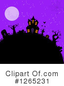 Royalty-Free (RF) Halloween Clipart Illustration #1265231