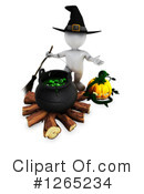 Halloween Clipart #1265234 by KJ Pargeter