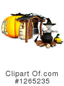Halloween Clipart #1265235 by KJ Pargeter