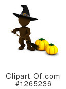 Halloween Clipart #1265236 by KJ Pargeter