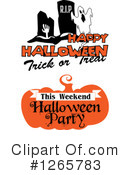 Halloween Clipart #1265783 by Vector Tradition SM