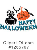 Halloween Clipart #1265787 by Vector Tradition SM