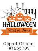 Royalty-Free (RF) Halloween Clipart Illustration #1265799