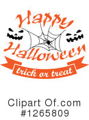 Royalty-Free (RF) Halloween Clipart Illustration #1265809