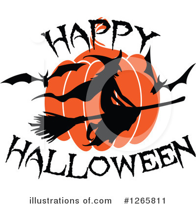 Halloween Clipart #1265811 by Vector Tradition SM