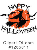 Royalty-Free (RF) Halloween Clipart Illustration #1265811