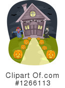 Royalty-Free (RF) Halloween Clipart Illustration #1266113