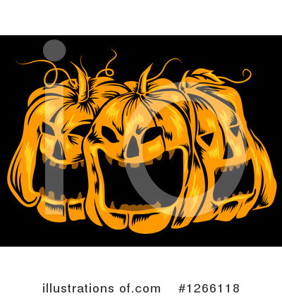 Royalty-Free (RF) Halloween Clipart Illustration by BNP Design Studio - Stock Sample #1266118