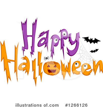 Happy Halloween Clipart #1266126 by BNP Design Studio