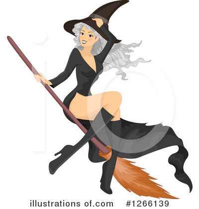 Witch Clipart #1266139 by BNP Design Studio