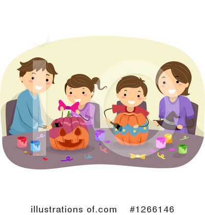 Halloween Clipart #1266146 by BNP Design Studio
