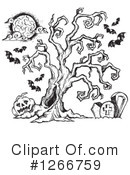 Halloween Clipart #1266759 by visekart