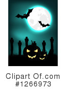 Royalty-Free (RF) Halloween Clipart Illustration #1266973
