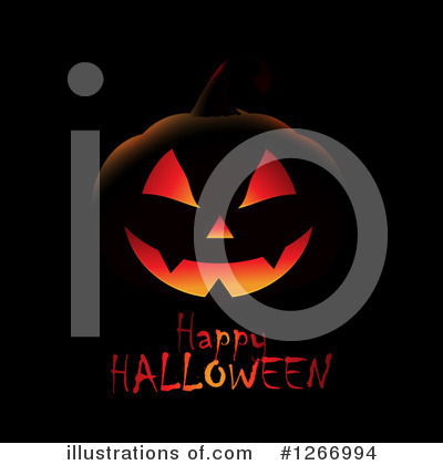 Halloween Pumpkins Clipart #1266994 by KJ Pargeter