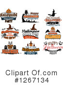Halloween Clipart #1267134 by Vector Tradition SM